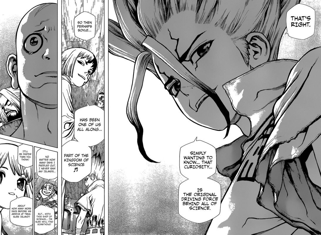 Dr. Stone : Chapter 102 - Science Vessel Perseus image 006