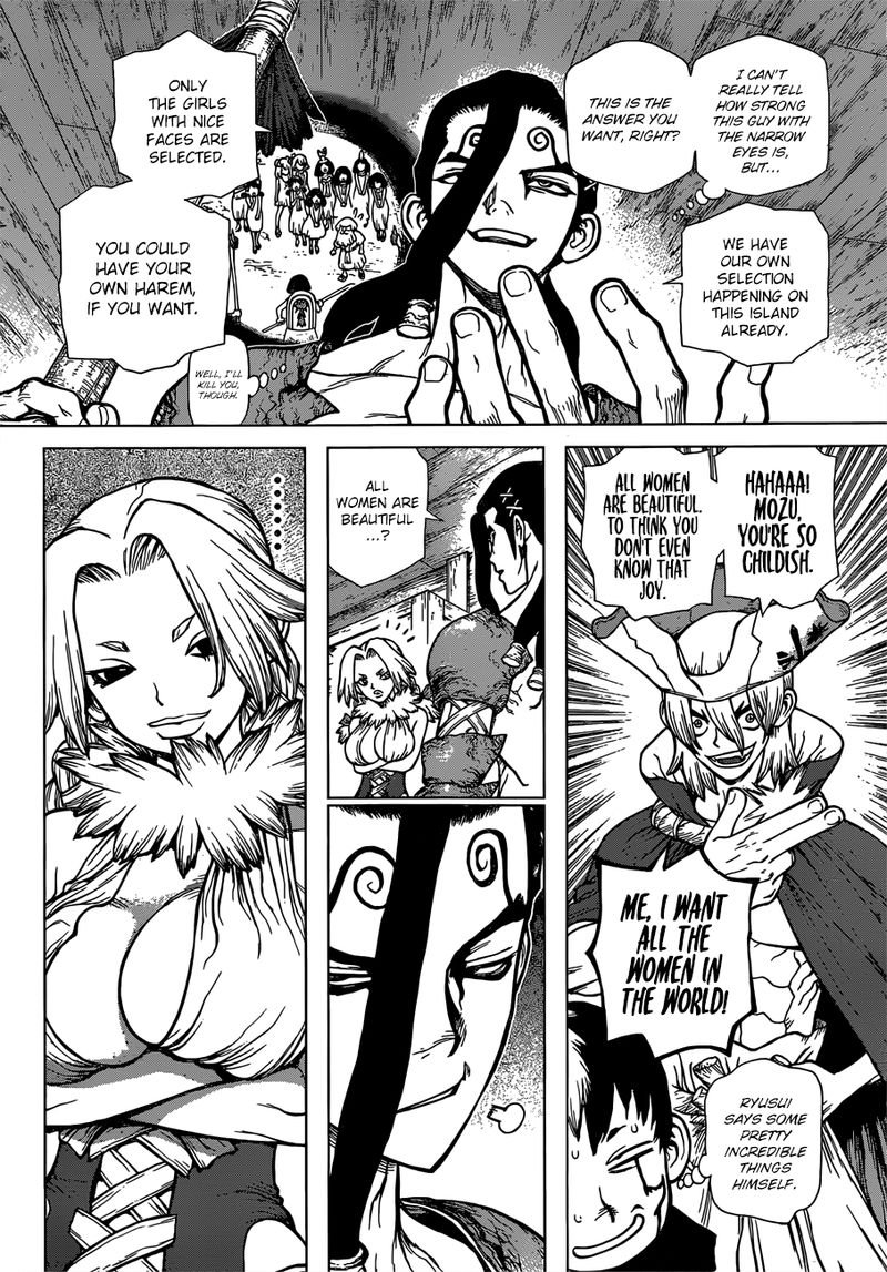 Dr. Stone : Chapter 130 - The Devils Choice image 013