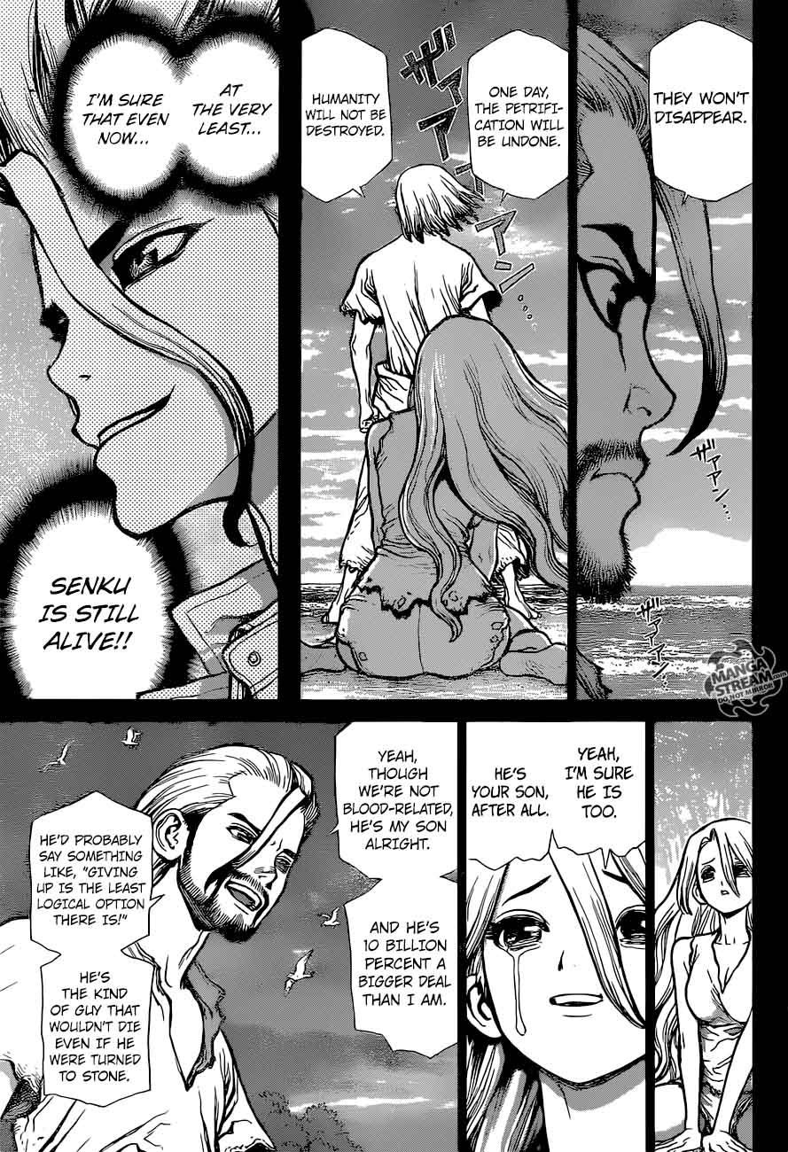 Dr. Stone : Chapter 44 - 100 Nights and 1,000 Skies image 016