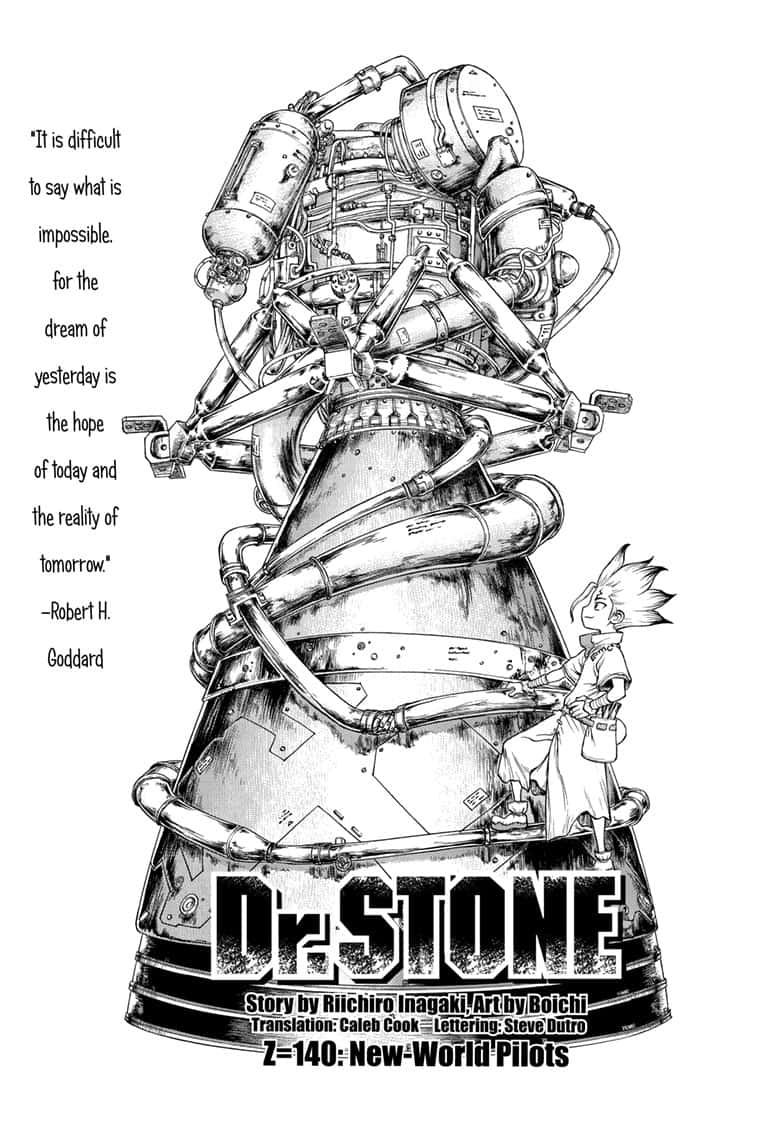 Dr. Stone : Chapter 140 - New World Pilots image 003