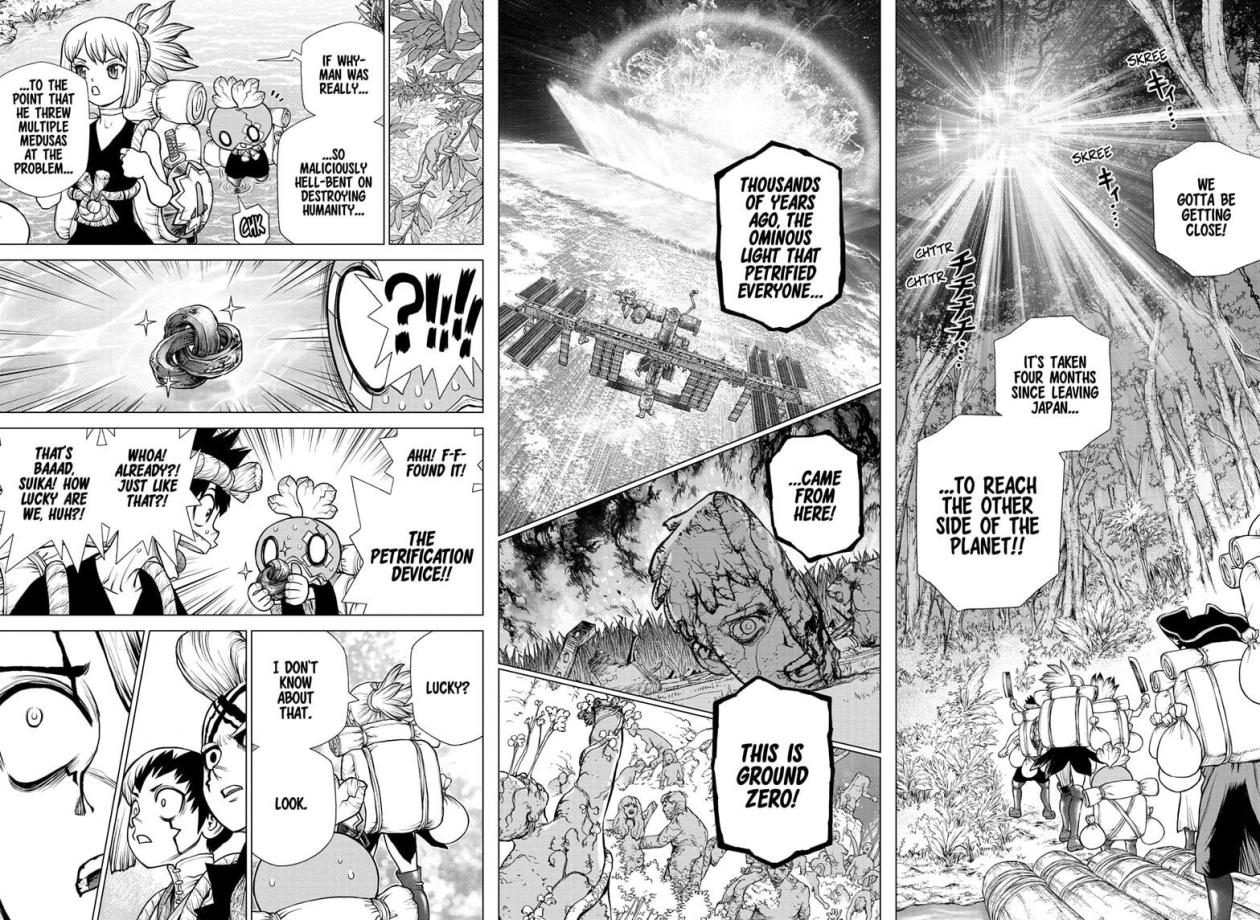 Dr Stone, chapter 180 image 014
