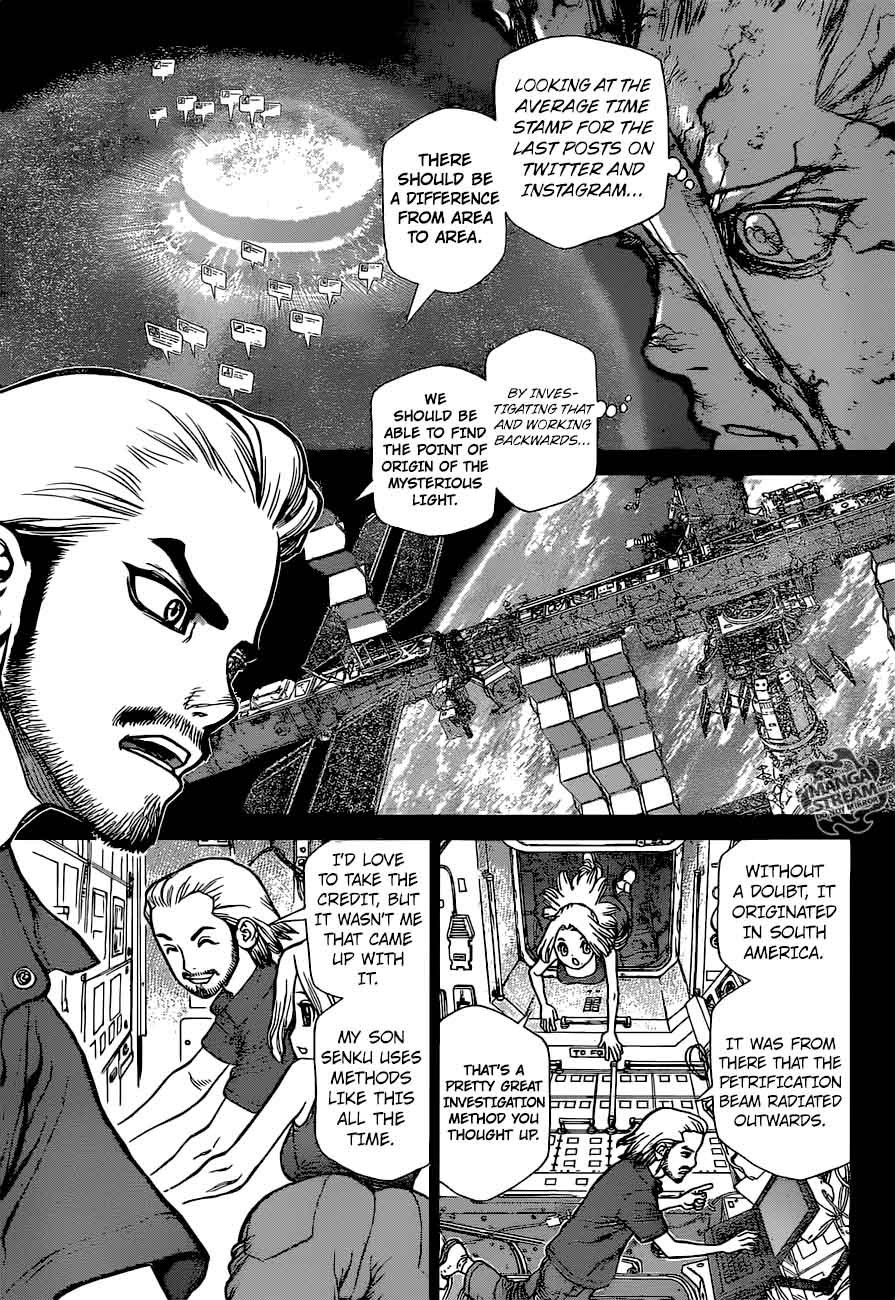 Dr. Stone : Chapter 44 - 100 Nights and 1,000 Skies image 003