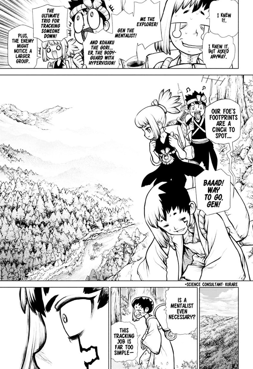 Dr. Stone : Chapter 151 - Dr. X image 003