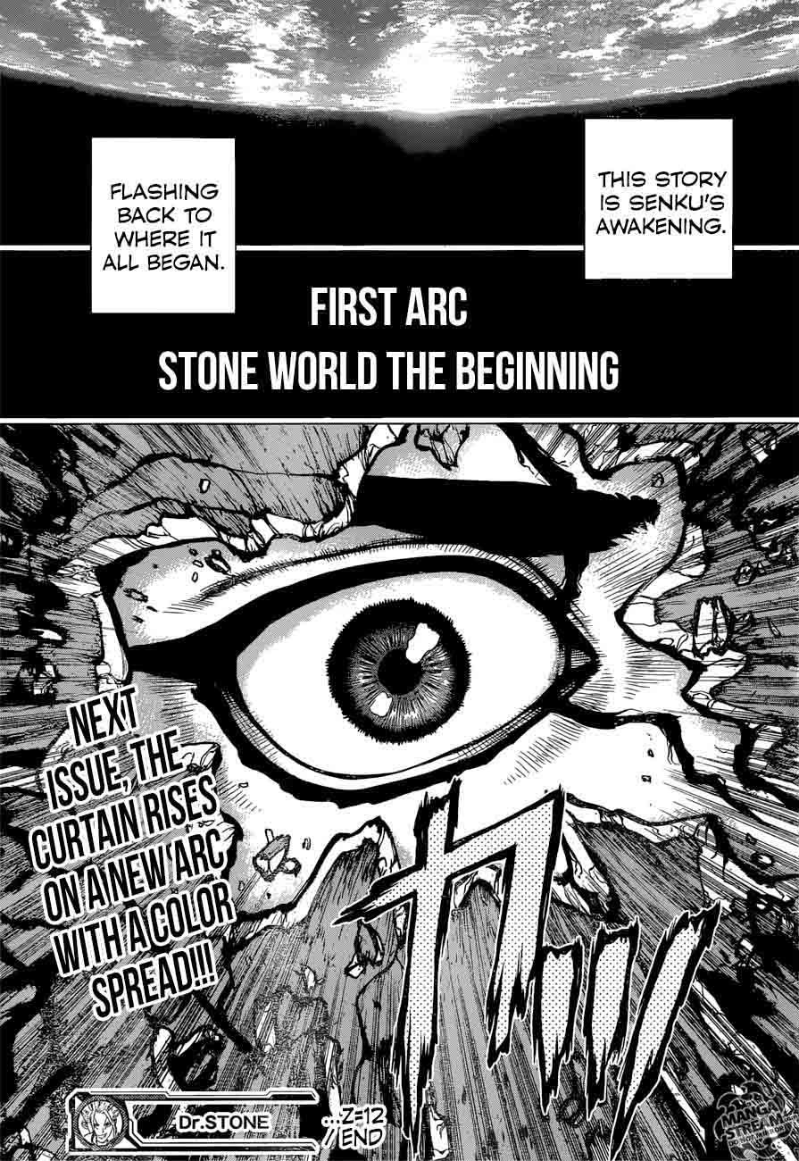 Dr. Stone : Chapter 12 - Epilogue of Prologue image 018