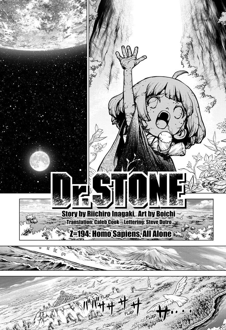 Dr. Stone, Chapter 194 image 001