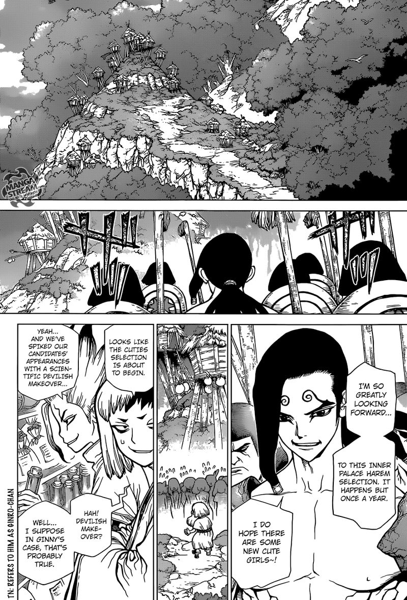 Dr. Stone : Chapter 110 - Beautiful Science image 018