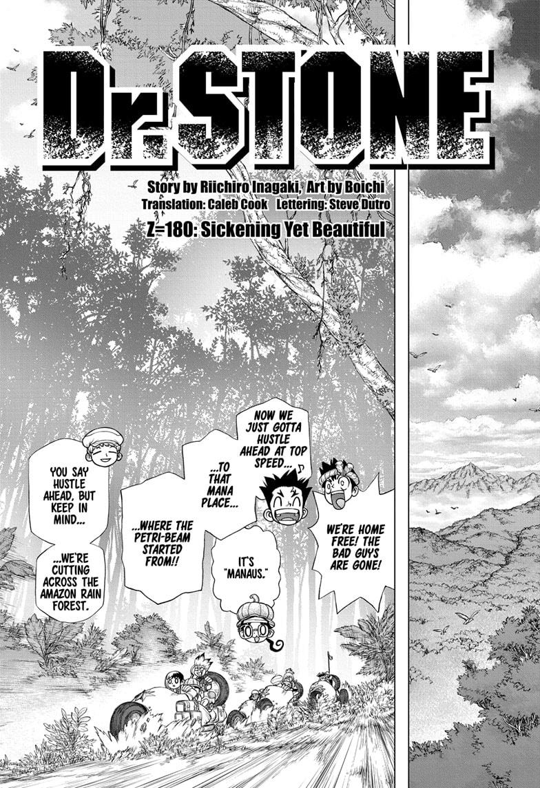 Dr Stone, chapter 180 image 003