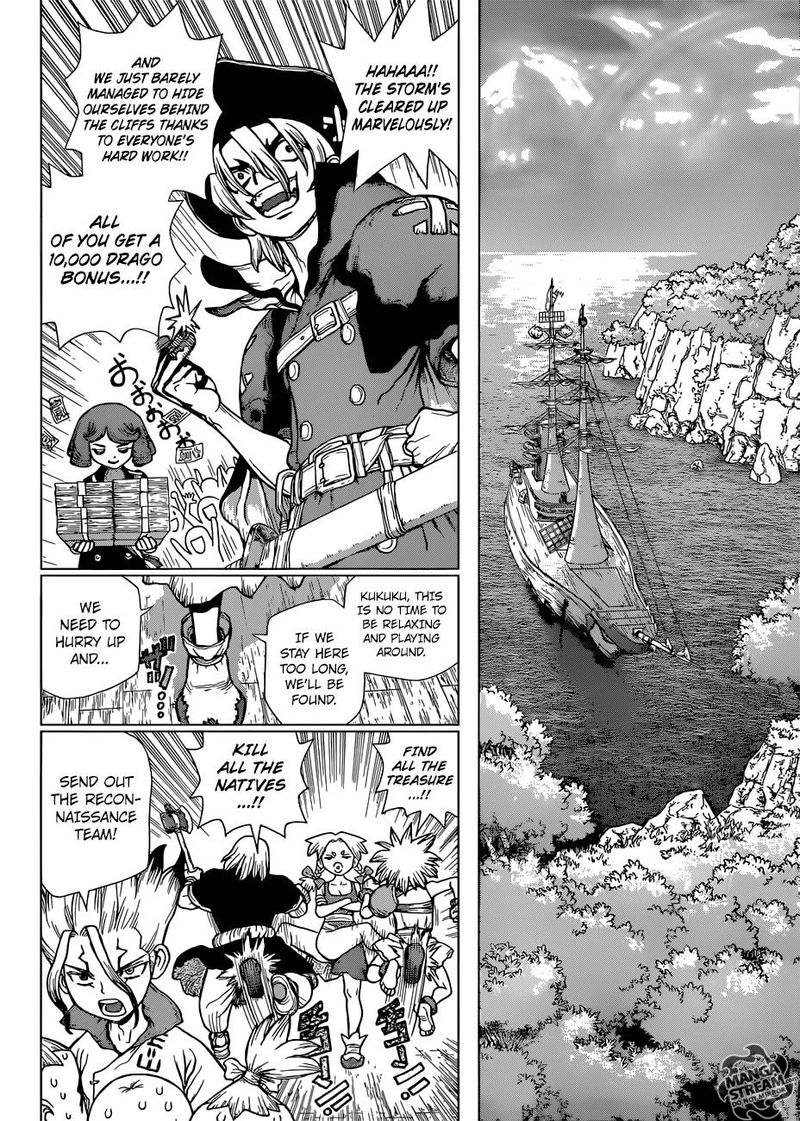 Dr. Stone : Chapter 103 - The light of despair and hope image 004