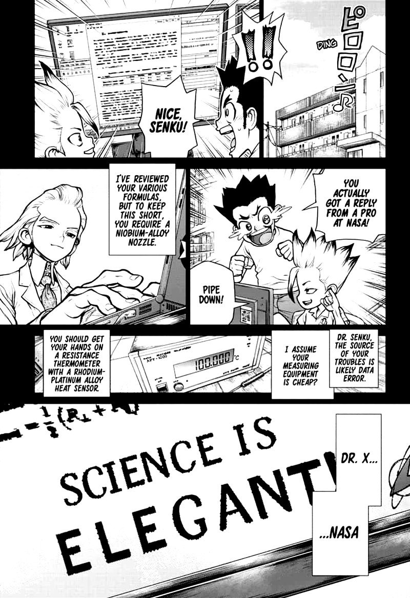 Dr. Stone : Chapter 156 - Two Scientists image 007