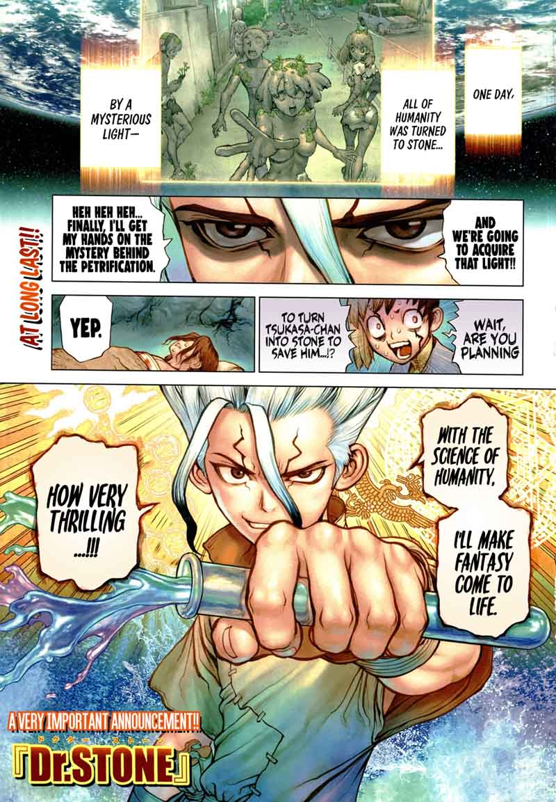 Dr. Stone : Chapter 83 - image 002
