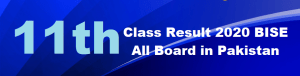 11th Class Result 2020 check online Inter HSSC 1st Year Result 2020