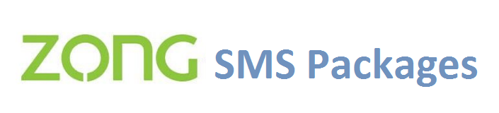 Zong SMS Packages Daily, Weekly and Monthly