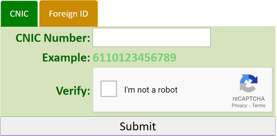 SIM Information System Check Online