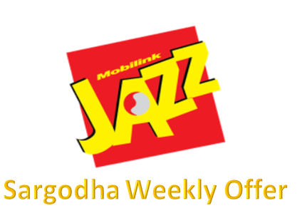 Jazz Sargodha Weekly Offer