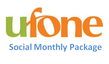 Ufone Social Monthly Package