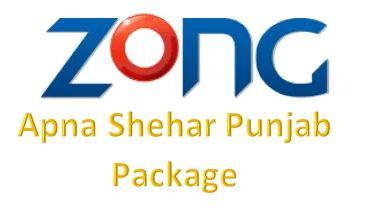Zong Apna Shehar Punjab Package