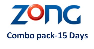 Zong Combo Pack – 15 Days