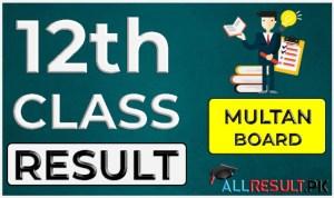 2nd Year Result Multan Board