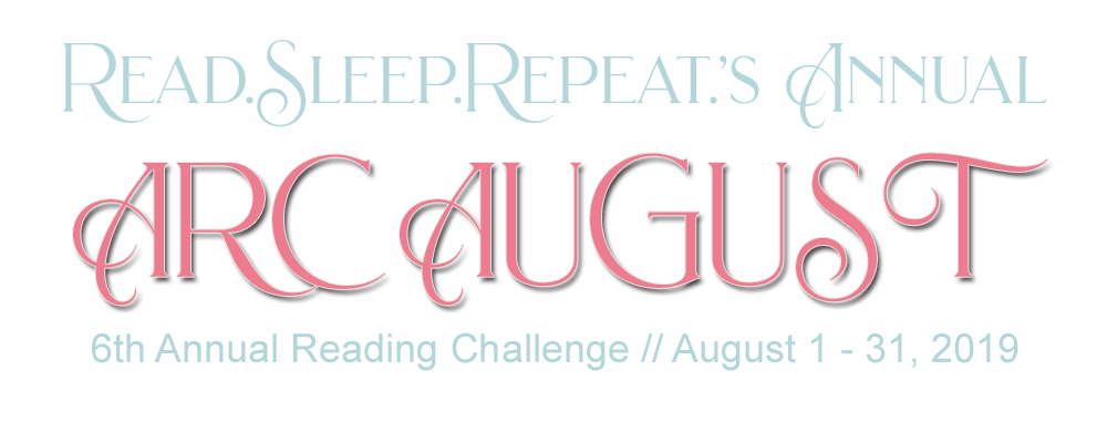 Read.Sleep.Repeat.'s Annual ARC August: 6th Annual Reading Challenge Banner