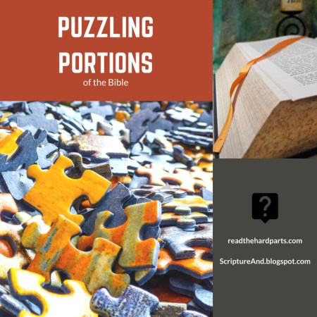 Puzzling Portions of the Bible