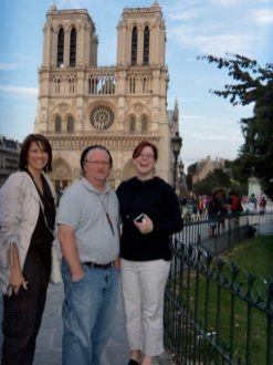 Notre Dame with Writers Joe Baillargeon and Anna Urquhart