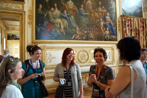 Int'l Residency 3 - Touring Versailles - Paris, France
