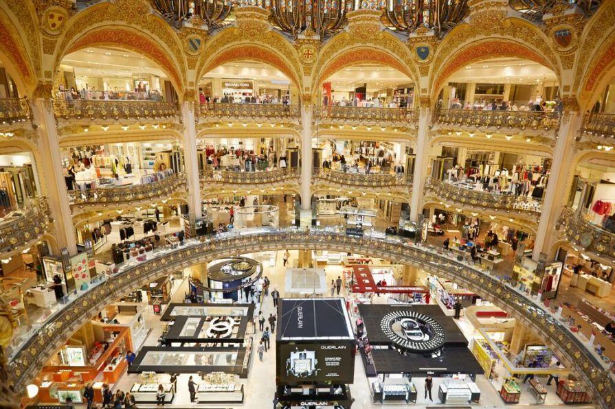 Image result for Galeries Lafayette paris