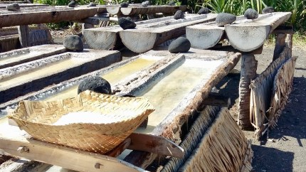 Salt making in Amed Bali