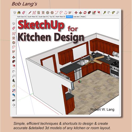 NEW Enhanced PDF Book SketchUp For Kitchen Design