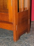 Detail Photo of Antique Stickley China Cabinet