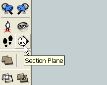 section tool in SketchUp