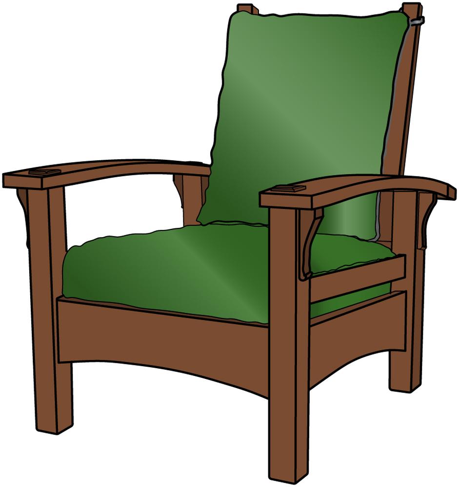 Stickley 336 Bow Arm Morris Chair