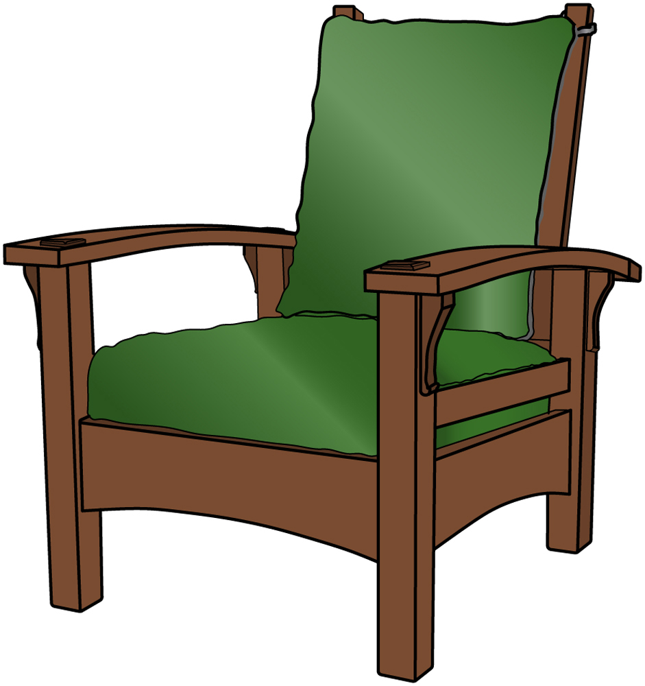 Stickley 336 Bow Arm Morris Chair