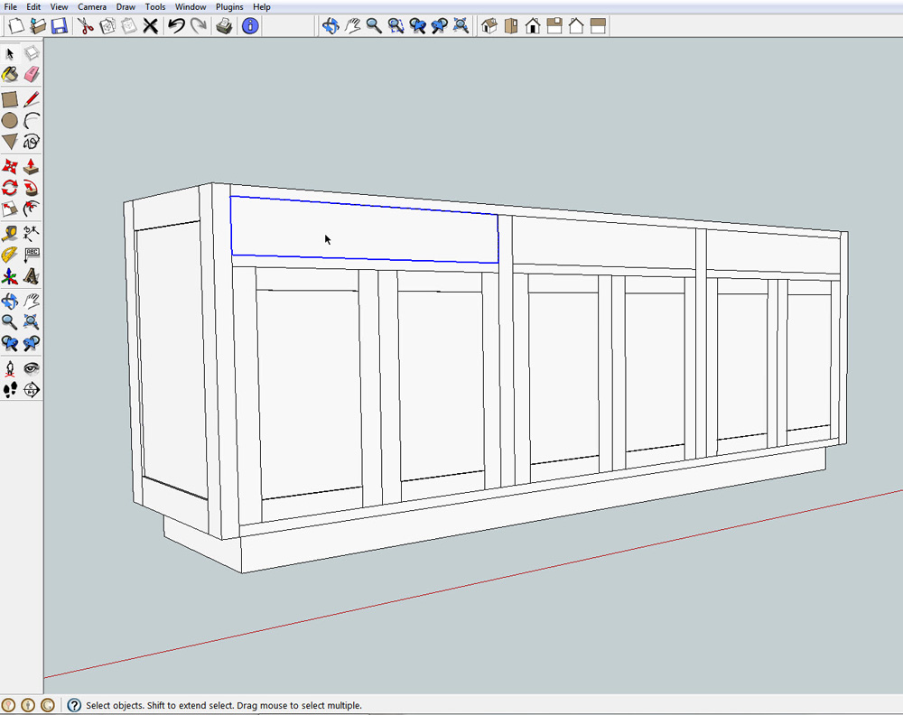 Should Doors and Drawers Exactly Fit Openings  sc 1 st  ReadWatchDo.com & Cabinet Doors and Drawers in SketchUp-What Size Should They Be ...