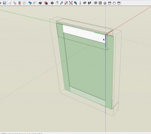 components can be nested within other components in a SketchUp model