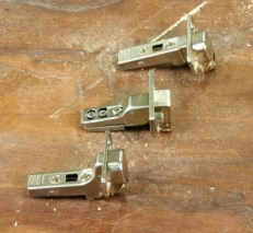 Three different types of European Hinge bodies