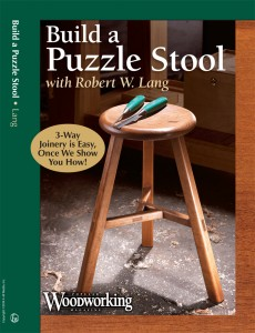 Build a Puzzle Stool with Robert W. Lang DVD