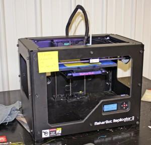 3D Printer at the Manufactory in Cincinnati, Ohio