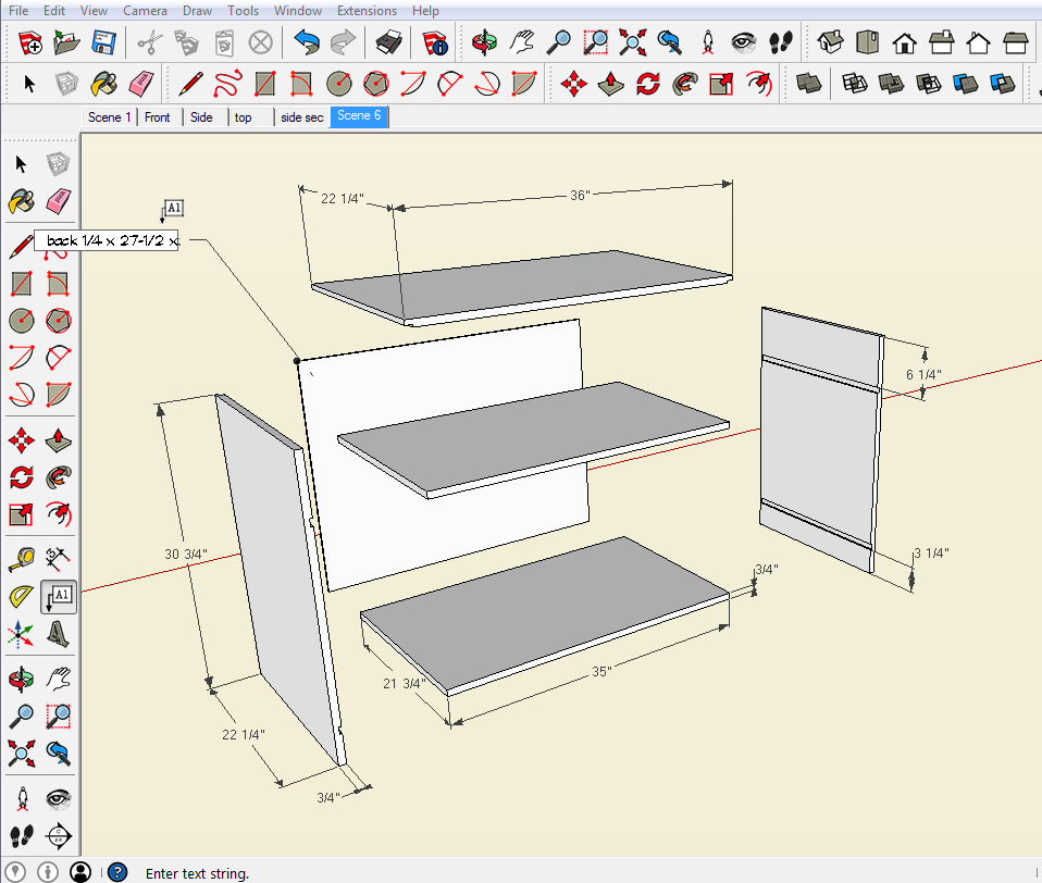 Make An Exploded View In Sketchupreadwatchdo