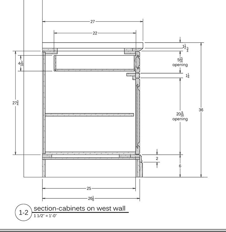 Kitchen Cabinet Drawings: Cabinet & Millwork DrawingsReadWatchDo.com