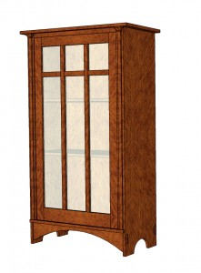 Stickley Bookcase by Robert W. Lang