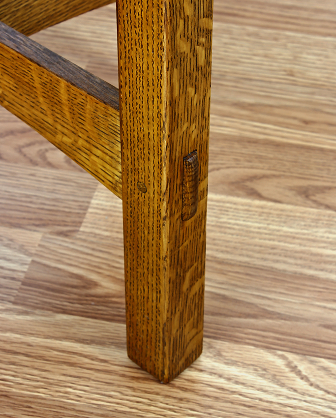 Stickley Repro Tabouret by Robert Lang