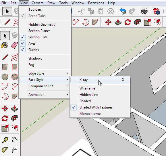 2 SketchUp Shortcuts – Now You See It, Now You Don