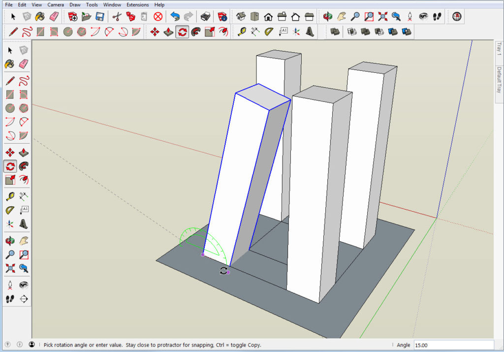 Compound Angles in SketchUp