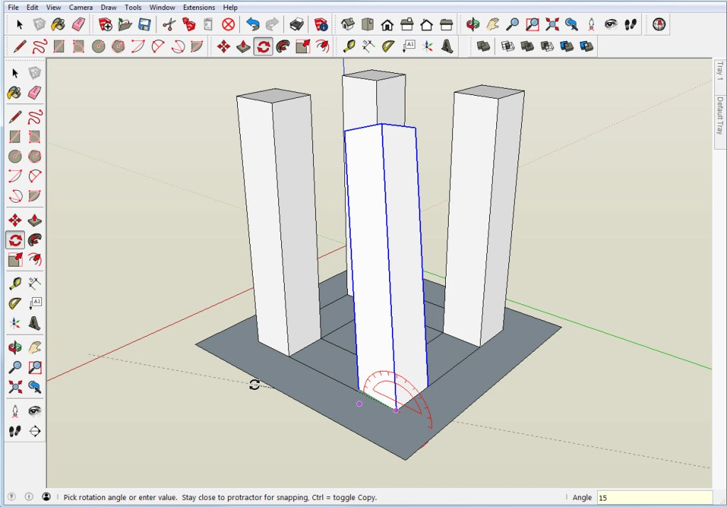 Compound Angle in SketchUp
