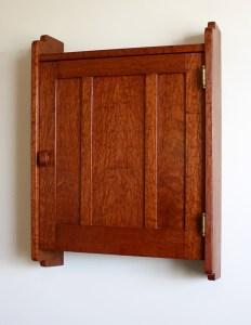 Gamble House Medicine Cabinet reproduction by Bob Lang