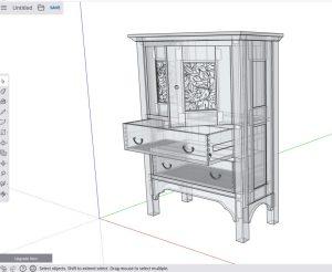 SketchUp Free Bob Lang model