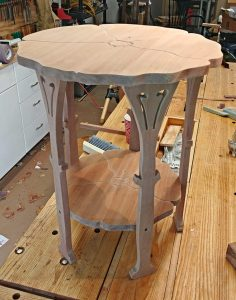Poppy Table Reproduction By Bob Lang