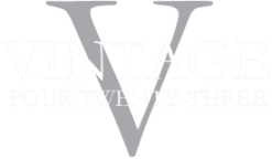 Vintage 423 restaurant logo