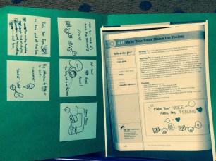 Fluency Folder - inside